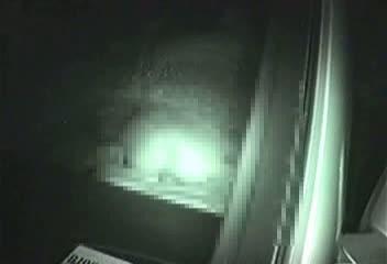 シロウトカップルの車内カーSEXを赤外線カメラでバッチリ秘密撮影に成功☆接続部までバッチリマル見えww
