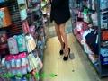街に美しい細めの脚線美を求めて徘徊して集めた素晴らしい美脚嬢たち
